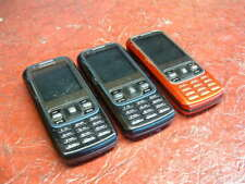 Lot of 3:Samsung Rant SPH-M540 - Red (Sprint/Ting/RingPlus) Parts & Repair