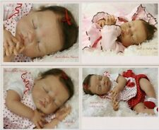 DOLL KITS VINYL SILICONE DOLL 22INCH REBORN BABY DIY SUPPLIES HEAD LIMBS NO BODY