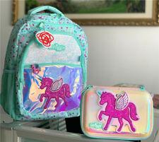 ❤ Girls SMIGGLE Backpack School Bag + Pencil case Stationery box set