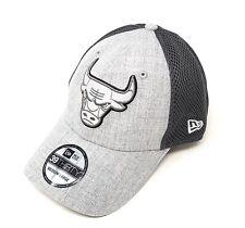 New Era Shadow Tech 39Thirty Chicago Bulls Schwarz
