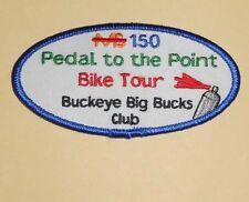 Pedal to the Point Patch - Cycling - Buckeye Big Bucks Club - Ohio - MS 150