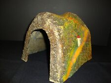 "WW II  Paper Mache 9 "" Long Railroad MOUTAIN Train Tunnel"