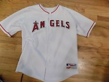 NWOT Authentic Collection Anaheim Angels Jersey  Home White Rawlings size 18-20