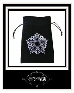 Tarot Storage Bag High-grade Velvet Bag 13 x 18CM