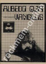 Vangelis Albedo 0.39 RS 1080 LP advert 1976