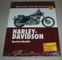 Reparaturanleitung Harley Davidson Sportster Modelle Wartung Reparatur Buch NEU!
