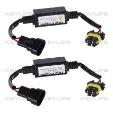 2X Decoder Adapter Harness 9005 9145 9040 HB3 Headlight LED DRL High Beam