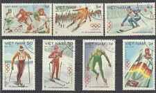 Timbres Sports d'hiver JO Viet Nam 478/84 o lot 2633