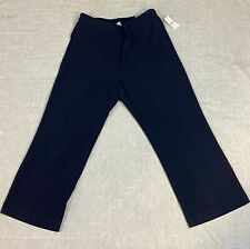 Catherines 0XWP 14/16WP Refined Straight Leg Pants Blue