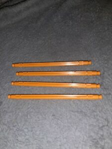 Knex Orange Rods 130mm price is for 4