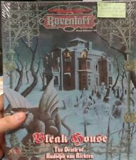 AD&D 2E RAVENLOFT Box Set BLEAK HOUSE THE DEATH OF VAN RICHTEN (Rare & SEALED!!)