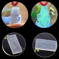 Silikon 3D Goldfish Crystal Epoxy Mold Diy Schmucksachen Die Fertigkeit K1L4