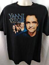 Yanni Voices 2009 Concert Music Tour Men's Shirt Size XL