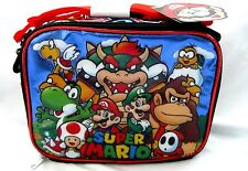 Super Mario Brothers,Luigi,Bowser,Toad,& Friends Insulted Lunch Bag Lunchbox