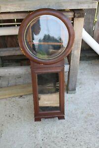 antique Seth Thomas no. 2 weight driven wall regulator clock  case project/parts