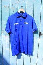 Vintage 1980s Bjorn's Laserdisc Pioneer Tech Work Polo T-shirt Stedman Small