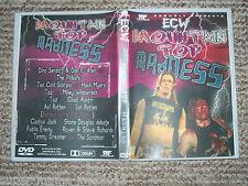 ECW Wrestling DVD Mountain Top Madness englisch wXw WWF WWE WCW AWA CWA TNA DWA
