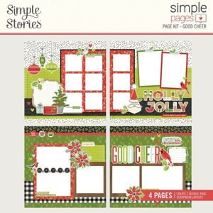 Simple Stories Simple Pages Page Kit-Good Cheer, Make It Merry