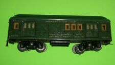 American Flyer 4040 RPO Mail Car Illuminated Green Standard Gauge