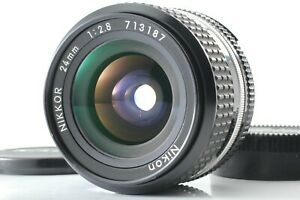 [Exc+++++] Nikon Ai-S Ais Nikkor 24mm f/2.8 MF Wide Angle Lens From Japan #227