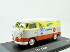 VW T1 Kastenwagen   1965  weiss/orange/gelb   /    IXO/Altaya   1:43