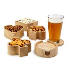 New listing New Bridge Poker Card Game Ensemble Hostess Wood Bowl Serving Set Original Box