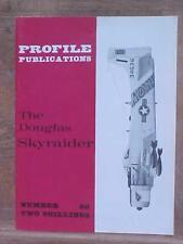 Douglas Skyraider aviation book Profile Publication No. 60 published in the UK