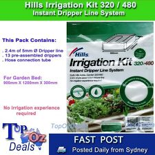 Irrigation Kit for Raised Garden Bed Hills 1200x900x300mm 320/480 Pre Assembled