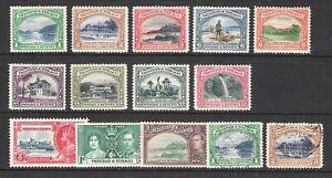 TRINIDAD & TOBAGO 1935 -1937 LANDSCAPES & BUILDINGS SET & EXTRAS (HM/U)