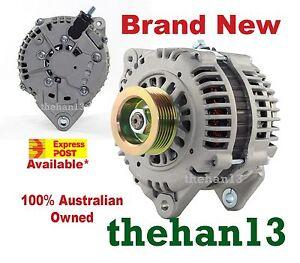New Alternator Fits Nissan Maxima (J31)  3.5L V6 Petrol VQ35DE 2002-2009