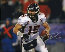 Tim Tebow Denver Broncos autographed 8x10 photograph RP