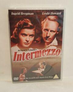 Intermezzo (1939) DVD Ingrid Bergman Leslie Howard, SEALED. UK R2 DVD