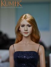 Kumik 1/6 Head Sculpt No.13-27 @ Hot Dollsfigure Toys Playtoy Custom female girl