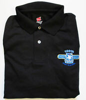 "160TH SOAR "" NIGHT STALKERS ""EMBROIDERED LIGHTWEIGHT POLO SHIRT"