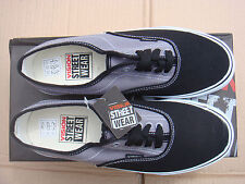 SKATEBOARD GREY/BLACK VISION STREET WEAR CANVAS trainers UK size 12