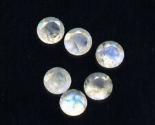Lot Of 25 Pieces AAA Quality Rainbow Moonstone 2x2 mm Round Cut Loose Gemstone