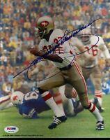 Jimmy Johnson 49ers Signed Psa/dna Certed 8x10 Authentic Autograph
