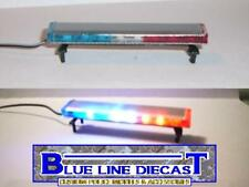 1/18 Flashing LED Low Profile Police Lightbar for Custom Diecast Models ( # 03 )