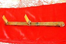 Ancien compas à pied mesure de cordonnier pédimètre vieux métiers outil Bottier