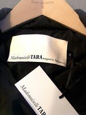 DOUDOUNE NOIRE PERFECTO *ZIP *Mademoiselle TARA *designed by Tara Jarmon *T. 40