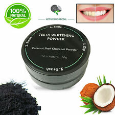 USA ACTIVATED CARBON CHARCOAL 100% NATURAL TEETH WHITENING COCONUT COCO POWDER