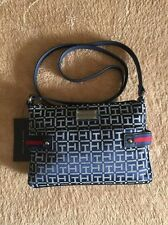 New Tommy Hilfiger crossbody bag, navy blue with white TH logo