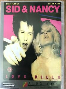 Sid and Nancy DVD 1986 Sex Pistols Vicious Punk Biopic Movie w/ Gary Oldman