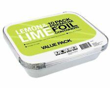 Lemon & Lime 10 Pack Premium Foil Containers - (9340957020654)