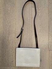 Ally Capellino White Cross Body Leather Bag