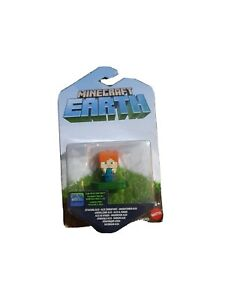 Minecraft Earth Attacking Alex Scannable For In Game Boosts Figure With Sword