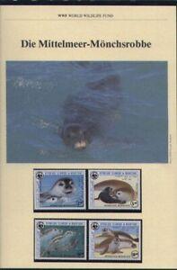 WWF, WNF Kapitel - MAURETANIEN, Mittelmeer Mönchsrobbe, 1986