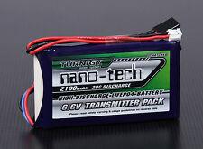 Turnigy nano-tech 2100mAh 2S 6.6v 20C LiFePo4 Transmitter Pack Battery T14SG 4PK