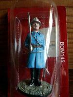 SOLDAT plomb DEL PRADO 1/32 POMPIERS DU MONDE Officier supérieur PARIS 1933 145