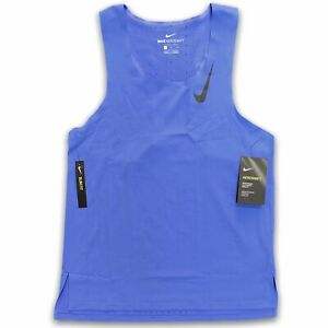 Nike Men's Aeroswift Running Singlet 'Hyper Royal' Running Top Tank CJ7835-500